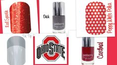 Show your spirit with Jamberry!   Ohio State Buckeyes     To order visit me at www.savvygirly.jamberrynails.net or email me at thesavvygirly@gmail.com