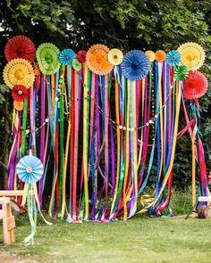 Resultado de imagem para decoraçao festa cigana