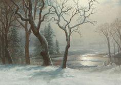 Winter in Yosemite by Albert Bierstadt | Art Posters & Prints