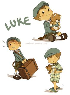 Luke by wredwrat on deviantART This is so adorable!