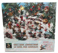 Springbok Puzzle Hallmark Keepsake Ornament Critter's Christmas  500 #Springbok