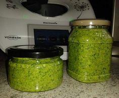 Rezept Rucola-Basilikum-Walnuss Pesto von Maddy78 - Rezept der Kategorie Saucen/Dips/Brotaufstriche