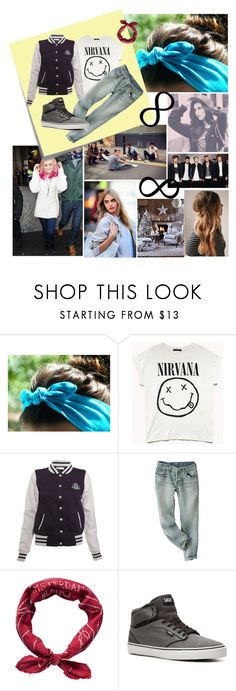 """""""My street style <3"""" by martirosenfeld ❤ liked on Polyvore featuring Retrò, Post-It, Forever 21, Rare London, Vans and Religion Clothing"""