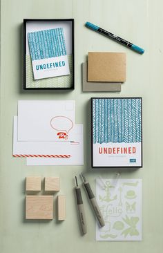 The Undefined Stamp Carving kit from Stampin' Up! What will you create?