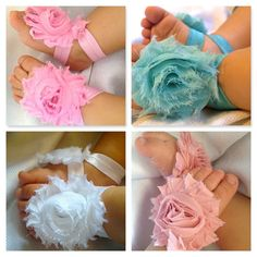 Toddler shoes / baby shoes. 4 Barefoot baby sandals 4 pairs by SummerJadeBoutique on Etsy, $16.25