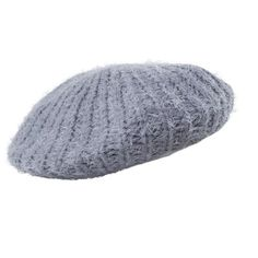 A classic beret is never out of style. Knitted Beret, Out Of Style, Headpiece, Closets, Hats, Classic, Clothing, Outfits, Fashion