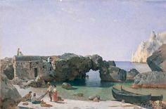 Silvester Feodossjewitsch Schtschedrin - Rocks at the Marina Piccola on Capri