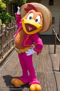 Panchito Pistoles at Disney Character Central
