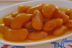 Γλυκο του κουταλιου φασολια γιγαντες Greek Sweets, Greek Desserts, Greek Recipes, Diet Recipes, Cooking Recipes, Food To Make, Sausage, Food And Drink, Chocolate