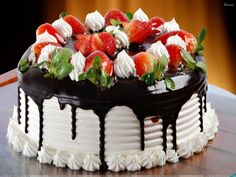 Cakes for Occasions Photos | Latest beautiful happy Birthday Cake wallpapers are ready to serve ...