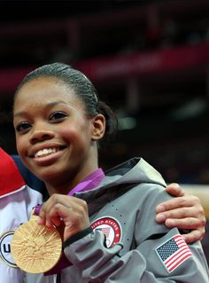 """I give all the glory to God. It's a win win situation. The glory goes up to HIM and the blessings fall on me."" Gabby Douglas Olympic All Around Gymnastic Gold Olympian 2012"