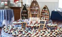 Nautical Cupcake Display by Sugar Rush Catering