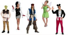 Disfraces de Disney