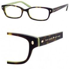 bcf67b2885c Eyeglasses Kate Spade Lucyann Us 0DV2 Tortoise Kiwi