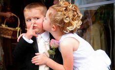 schattige bruidskinderen :P