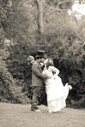 I totally forgot I had this site set up and posted the wedding photos at my other site. Thanks to Jamie Fodale Photogra… Steampunk Wedding, Modern Victorian, Wedding Photos, Wedding Inspiration, Marriage Pictures, Wedding Photography, Wedding Pictures