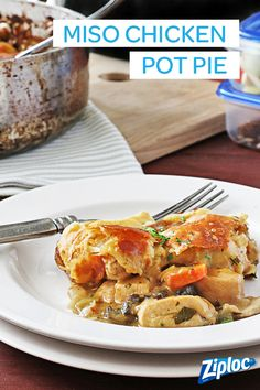 ... on Pinterest | Chicken pot pies, Soba noodles and Easy pad thai