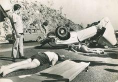 Enrique Metinides - Accidente en la carretera - 1982
