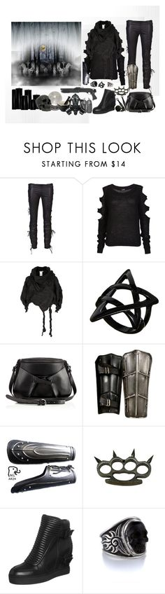 """Dark Days"" by rowangingerraven ❤ liked on Polyvore featuring B*+S, Issey Miyake, ASOS, Mineral, Christian Louboutin, Le Creuset, GAS Jeans, Ash and River Island"
