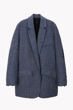 SYSTEM elbow patch textured jacket