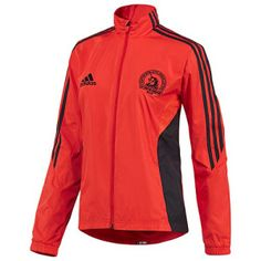"2012 Women's adidas Boston Marathon Jacket ""Core Energy"""