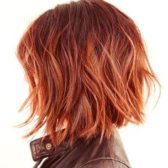 Hairstyles Ideas For Events Choppy Bob Hairstyles For Fine Hair, Pretty Hairstyles, Short Red Hair, Short Hair Cuts, Hair Color Balayage, Ombre Hair, Medium Hair Styles, Short Hair Styles, Wine Hair