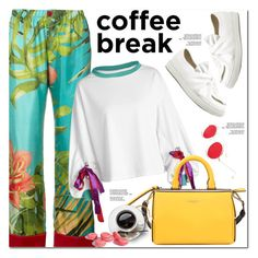 """""""Coffee Break"""" by oshint ❤ liked on Polyvore featuring F.R.S For Restless Sleepers and Emilio Pucci"""