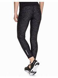 Neo Noir, Love Long Sport Tights, Leopard, 429 kr. - Large