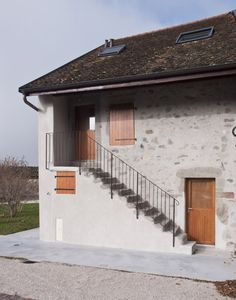 FRAR transforms a dilapidated French house and barn into a holiday home.