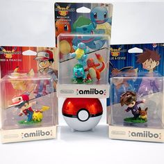 Custom 1st Gen Pokemon amiibo by SeeJay Lewis