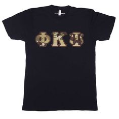 Customize yours in the Letter Design Shop. You'll love the way we sew your greek gear! Fraternity Letters, Sorority Letters, Greek Letter Shirts, Greek Gear, American Apparel Shorts, Stitch Shirt, Design Shop, Lettering Design, Kappa