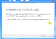 How To Connect Your Gmail Account With Microsoft Outlook 2013 or Outlook 2010