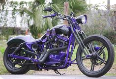 purple motorcycle | Tumblr umm yes please!! I would love to have this bike!