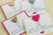Bookmark Valentines