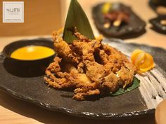 Soft shell crab.  Yumi Izakaya Lecce. Real Japanese street food.
