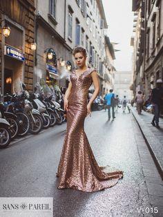 View Dress - Sans Pareil Collection 2017: V-015 | SansPareil Evening
