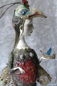 Bird Girl by Gulya Alekseeva