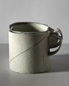 Ricky Swallow, Stacking Cup (bone), 2011, patinated bronze, 7.6 x 8.9 x 10.2 cm / 3 x 3 1/2 x 4 ins, edition of 3,