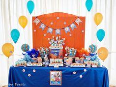Comunión Dragon Ball para Rubén - Merbo Events Dragon Ball Z, 3rd Birthday, Birthday Ideas, Party, Anime, Dragons, Game Ideas, Birth, Dragon Dall Z