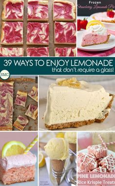 Well I hadn't thought of using lemonade to make a dessert - but these look fabulous!