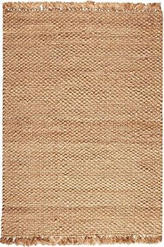 Premium Braided Jute Area Rug, 12'x15', NATURAL Home Deco…