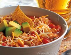 Tortilla Soup - This soup is a definite crowd pleaser and one of our favorites. It has a little bit of everything and a whole lotta flavor. OK- a committee meeting? Yes!