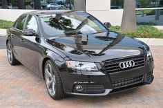 The members of the Hazard family are the new proud owners of an Audi A4...BLACK...perfect getaway car!