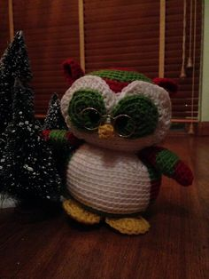 The Wise Old Owl of Christmas (Nelson, by Freshstitches)