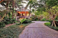 Guest Garden - tropical - exterior - miami - tuthill architecture