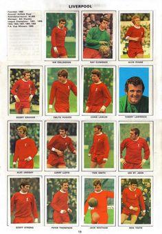 The 1970 Liverpool squad #LFC