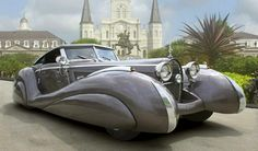 """(year?) Bugatti Atlantic ~ Click through the large version for a full-screen view (on a black background in Firefox), set your computer for full-screen. ~ Miks' Pics """"Era Automobiles ll"""" board @ http://www.pinterest.com/msmgish/era-automobiles-ll/"""