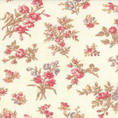 "Moda ""3 Sisters Printemps"" Floral Bundles Linen. $10.99 per yard."