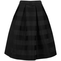 Warehouse Warehouse Stripe Jacquard Prom Skirt Size 6 (29 AUD) ❤ liked on Polyvore featuring skirts, black, warehouse skirts, striped skirt, prom skirt, jacquard skirt and stripe skirts