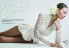 Saptodjojokartiko in Harper's Bazaar Wedding Ideas